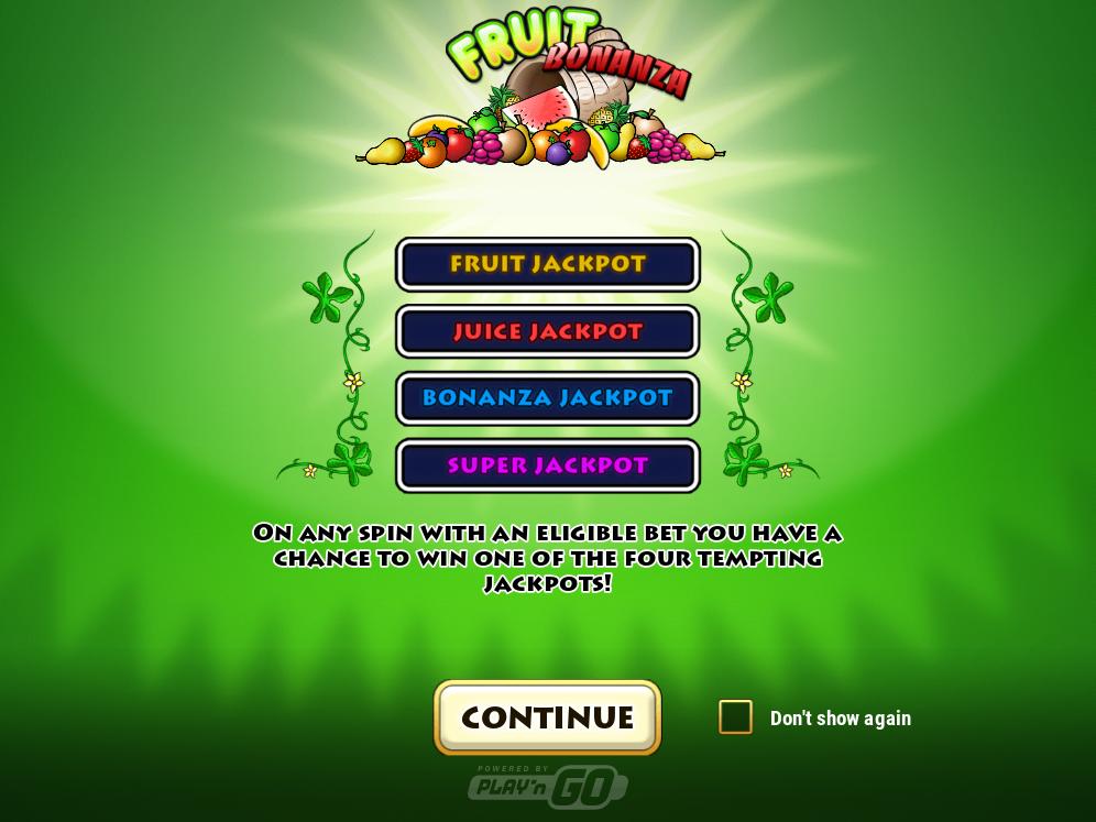 Cloudbet Fruit Bonanza