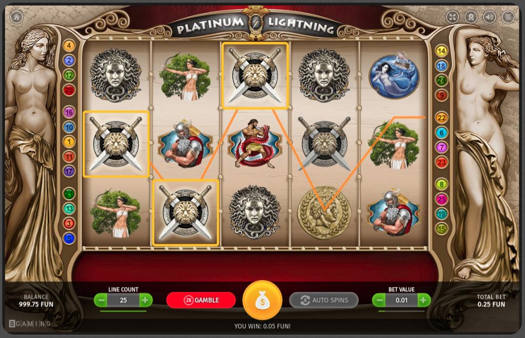 PlatinumLightning 7BitCasino Slot